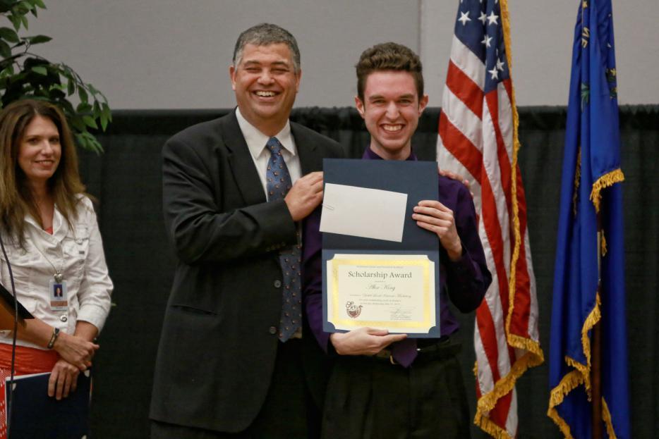 Alex King Receives The 4th Annual Yokel Local Scholarship