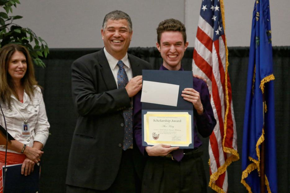 Alex King Receives The 4th Annual Yokel Local Scholarship