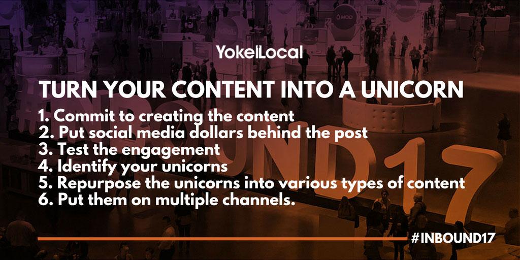 content marketing creating unicorns