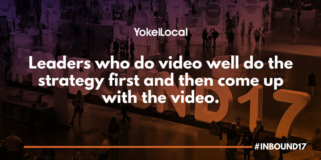 video marketing and leadership