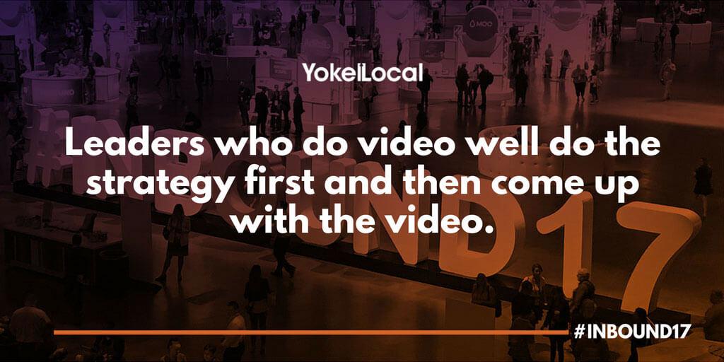 video marketing and leadership