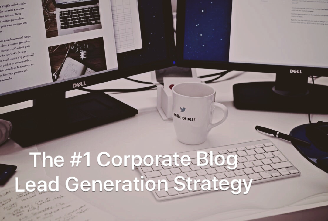 corporate blog lead generation