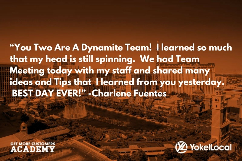 get more customers academy testimonial charlene fuentes