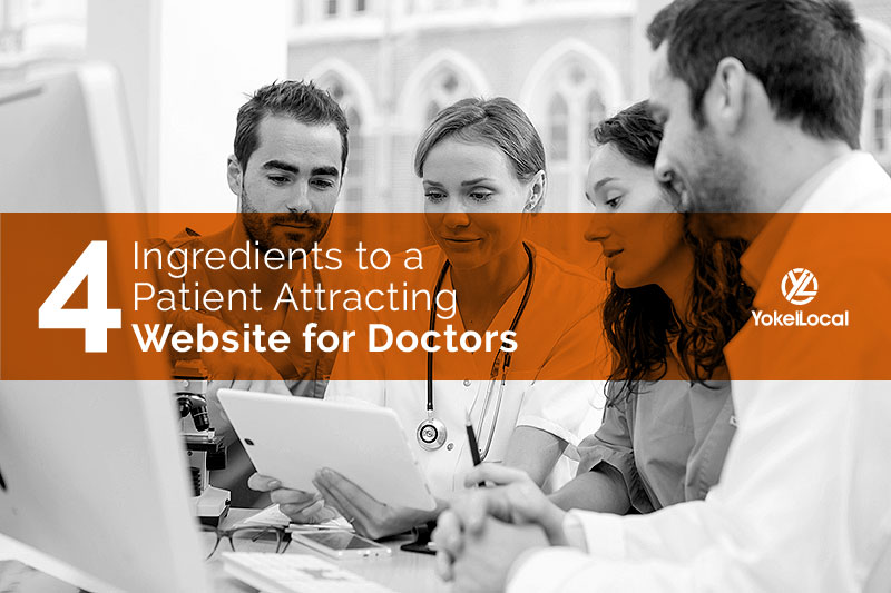 4 Key Ingredients of a Patient-Attracting Medical Website