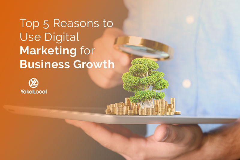 5 Ways Online Marketing Helps Business Grow Exponentially