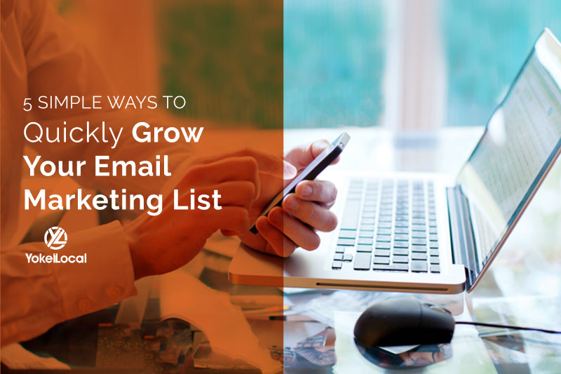 How to Quickly Build An Email List for Business Marketing